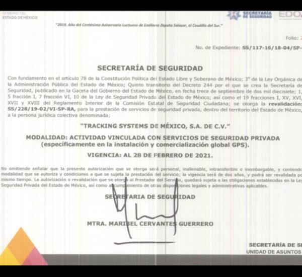 DIRECCIÓN  GENERAL DE SEGURIDAD PRIVADA
